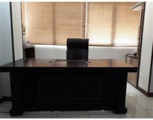 میز مدیریت با ال کشودار