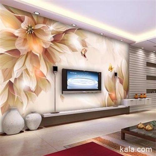 کاغذ دیواری و پوستر سه بعدی و نصب