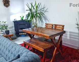 میزوصندلی چوبی