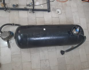 گاز ال پی جی ۱۰۵ لیتری در حد نو