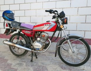 موتور سیکلت مدل ۱۵۰ cc استارتی تمیز بامدارک کامل