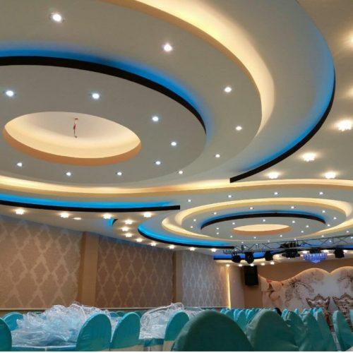 کاغذ دیواری پوستر سه بعدی  کناف سقف