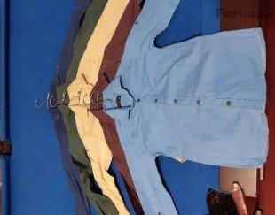پیراهن کتان پسرانه ۱۳۰عدد یکجا