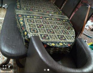 میز ناهار خوری هشت نفره