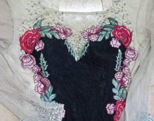 لباس مرواریددوزی مجلسی