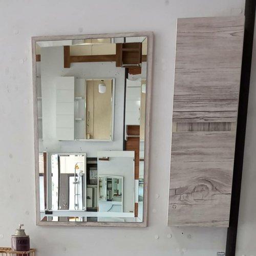 روشویی کابینت دو تکه آینه باکس ست pcv(ضد اب) کیفیت عالی