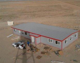ساختمان پیش ساخته- ساندویچ پانل