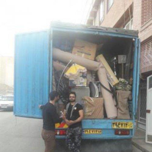 باربری حمل اثاثیه منزل باقیمت مناسب و مشتری پسند