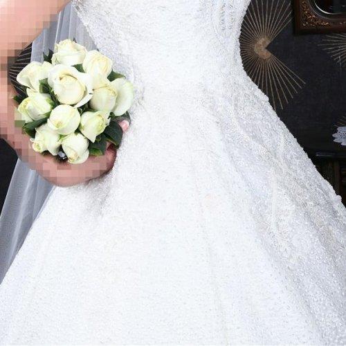 لباس عروس تمام دانتل