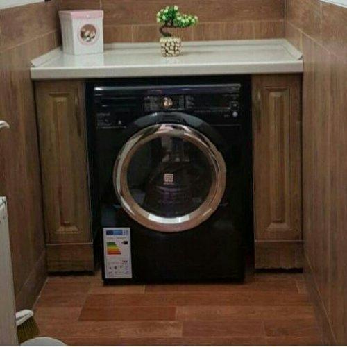 ماشین لباسشویی بشور خشک کن ۹ کیلویی هیتاچی