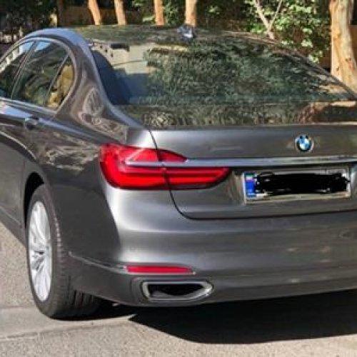 بی ام و  ۷۳۰li مدل ۲۰۱۷