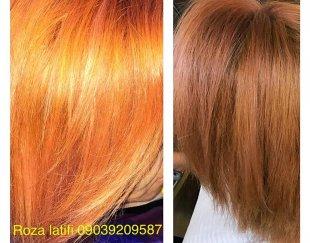 رنگ مو -haircolor