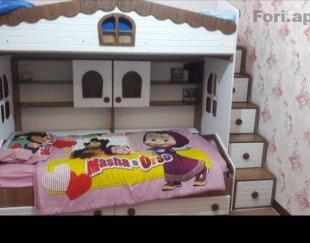 تخت دو طبقه بسیار زیبا
