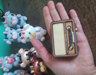 رادیو چوبی دکوری