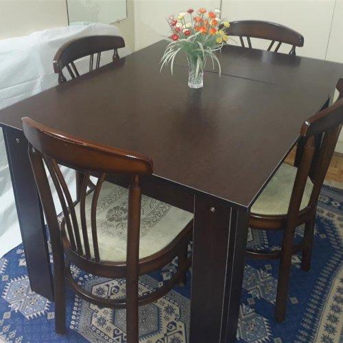 میز تبدیلی ۴ به ۶ نفره بدون صندلی ( ۱۰۰% نو)
