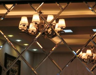 آینه کاری دکوراتیو ،لوزی،سقفی،مدرن وکلاسیک