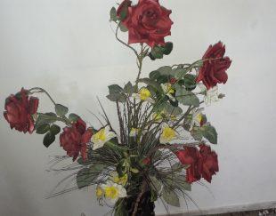گل وگلدان
