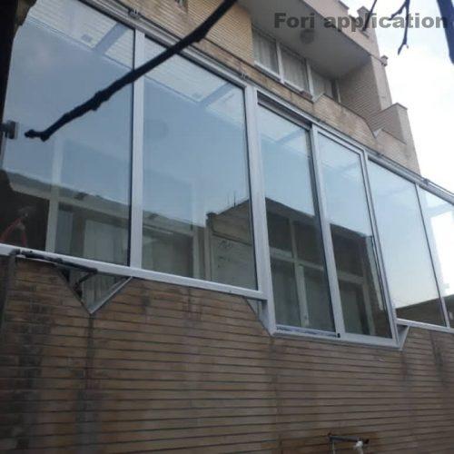 تولید و تعمیر انواع درب و پنجره دوجداره آلمینیوم وupvcوتوری