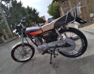 موتور ۱۵۰ دستی پنج دنده پلاک ملی