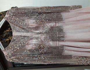 لباس مجلسی ملیله کاری شده