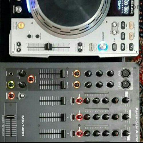 دستگاه دجی دنون ۳۵۰۰ با میکسر بی نظیر امریکن آئودیو