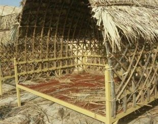 ساخت آلاچیق سنتی