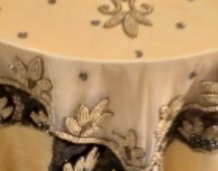 میز خاطره با رومیزی