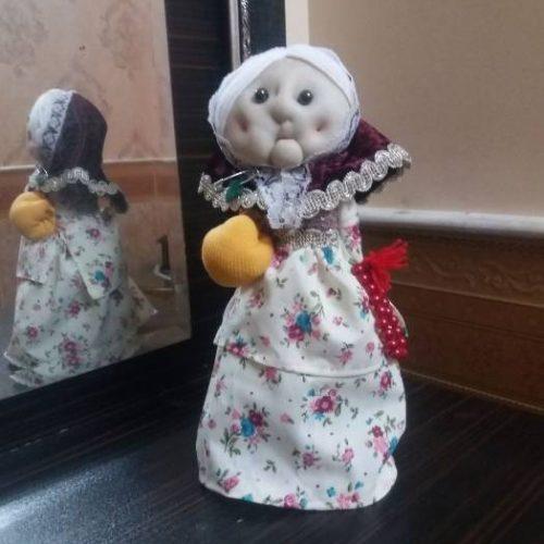 عروسک پارچه زیبا