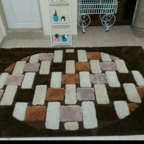 یک جفت فرش زمرد مشهد ۹ متری