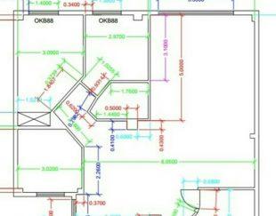 نقشه کشی معماری و صنعتی با اتوکد و دست