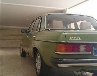 مرسدس بنز مدل ۱۹۸۰اتاق ۱۲۳
