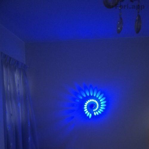 چراغ دیواری سقفی اسپیرال LED