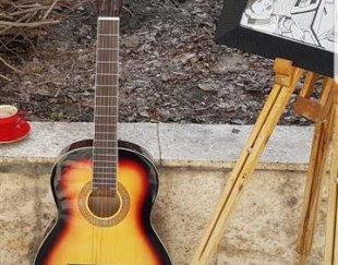 اموزش گیتار … ویژه بانوان