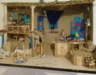ماکت خانه روستایی