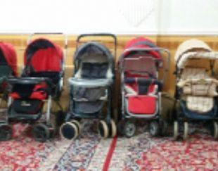 انواع کالسکه کودک در حد نو