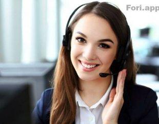 استخدام بازاریاب تلفنی خانم
