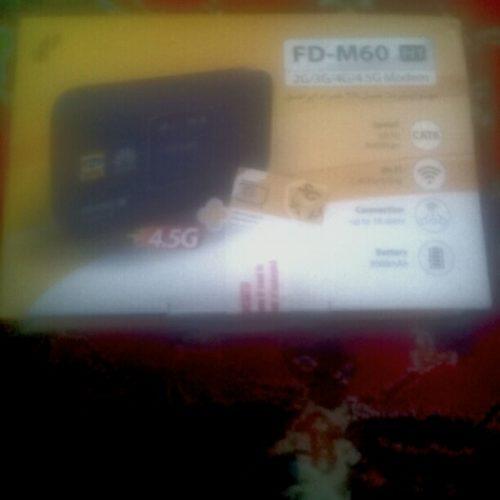 یک عدد مودم همراه ایرانسل مدل FD-m60