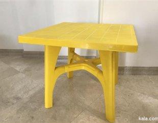 میز ۴ نفره پلاستیکی