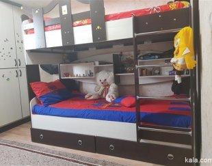 تخت دو طبقه mdf بلژیک