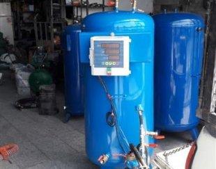 پمپ و مخزن دیجیتال گاز مایع LPG