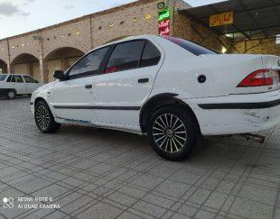 فروش ماشین سمند ای اف سون پایه گازسوز