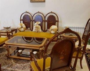 سرویس مبلمان و غذا خوری طرح ایتالیایی معرق