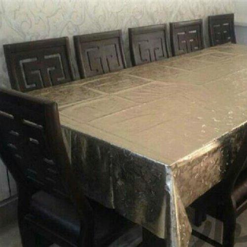 میز نهارخوری ۸ نفره با ۱۰ صندلی