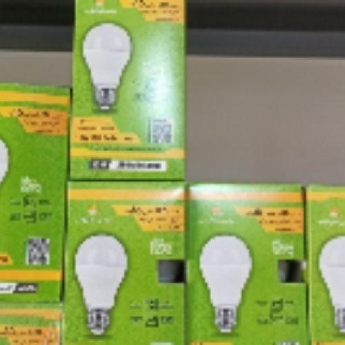 لامپ LEDبرندپارس شعاع توس بایک سال گارانتی