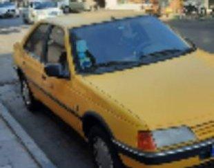 پژو تاکسی ۴۰۵ کردشی