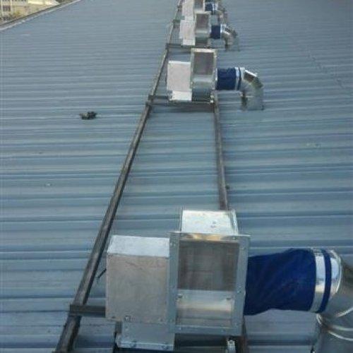 کانال کولر آهنگری دریچه هود صنعتی سانتریفوژ