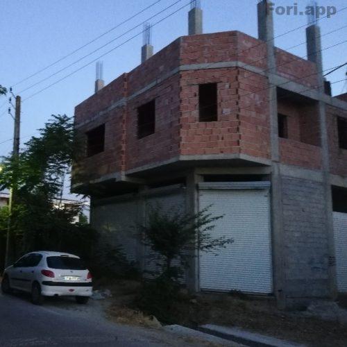 ساختمان نیمه کاره با قابلیت ساخت ۴طبقه