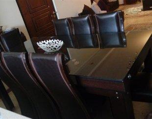 مبلمان..میز نهار خوری هشت نفره..میز وسط