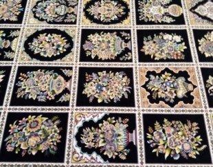 فرش، نو، پلمپ،، زیر قیمت بازار ۱۲۰۰ شانه با تراکم ۳۶۰۰،نخ اکلریک