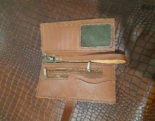 کیف پول دست دوز